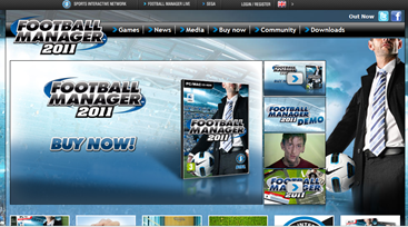 Football manager 2011 launches its campaign with new charity innovation