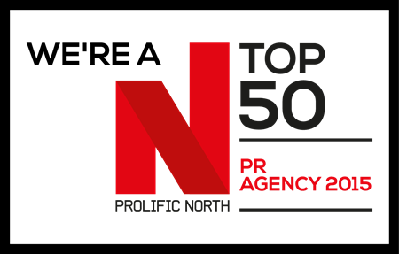 Prohibition Gets Shortlisted in the Top 50 PR Agencies