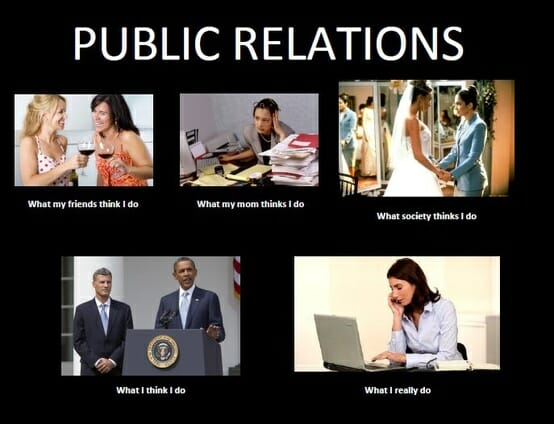 The Top Five Personalty Types Of PR People