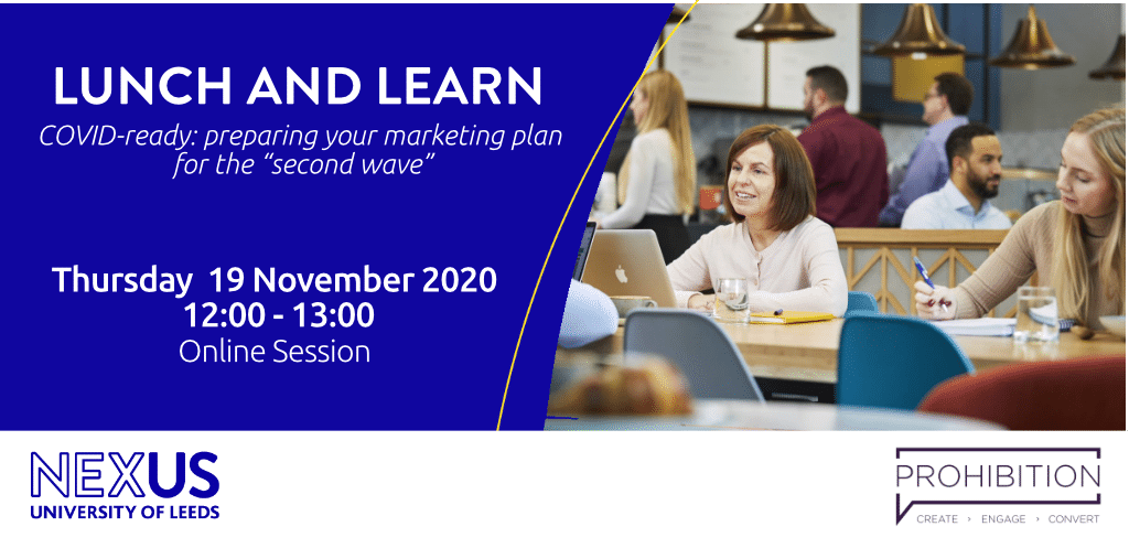 "Event alert: Preparing your marketing plan for the ""second wave"""