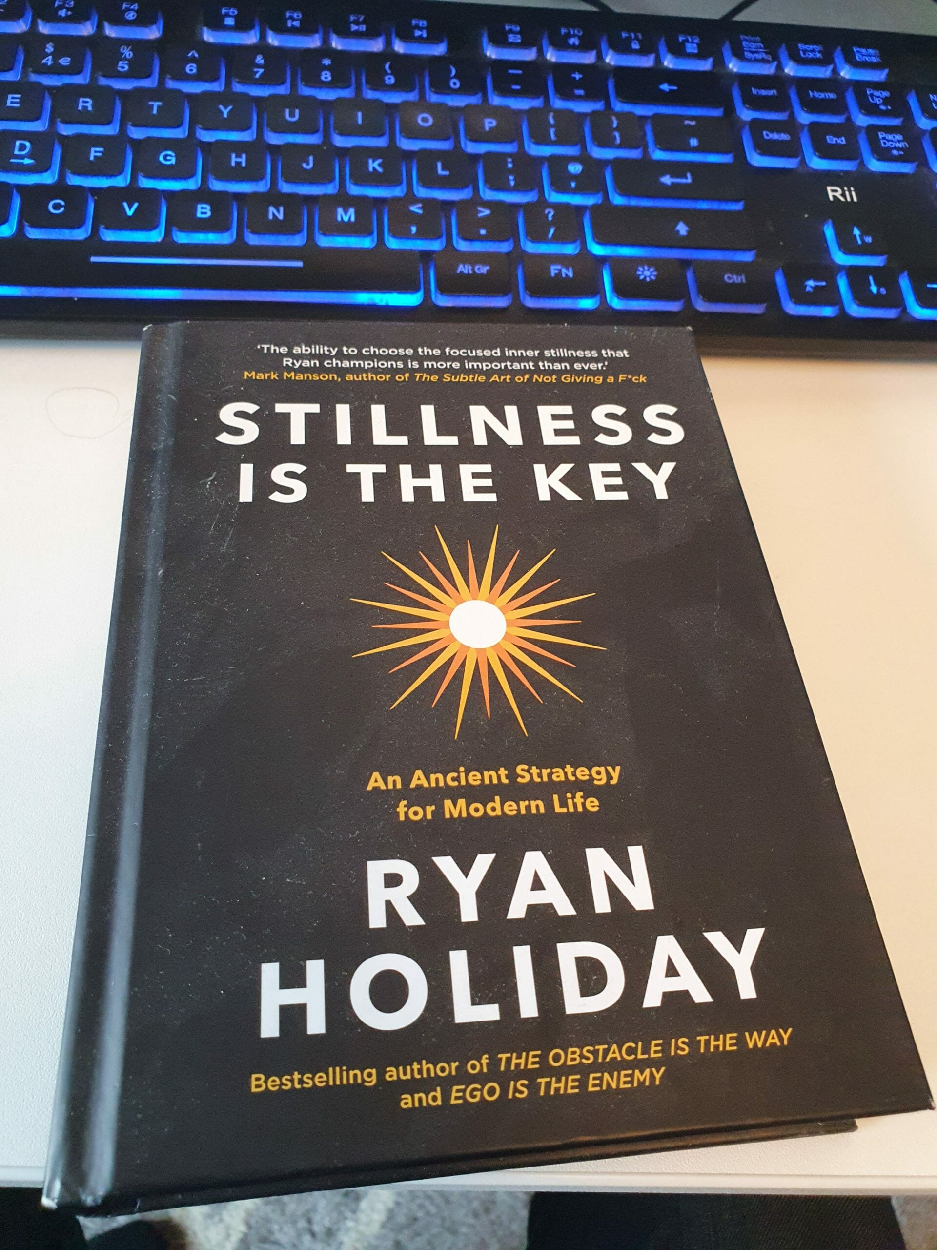 Stillness has been my key – book review