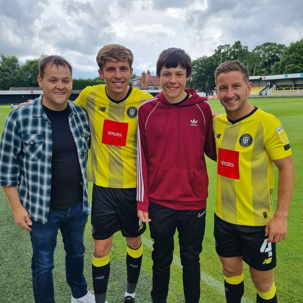 Video – Black Sheep Brewery becomes official beer of Harrogate Town FC